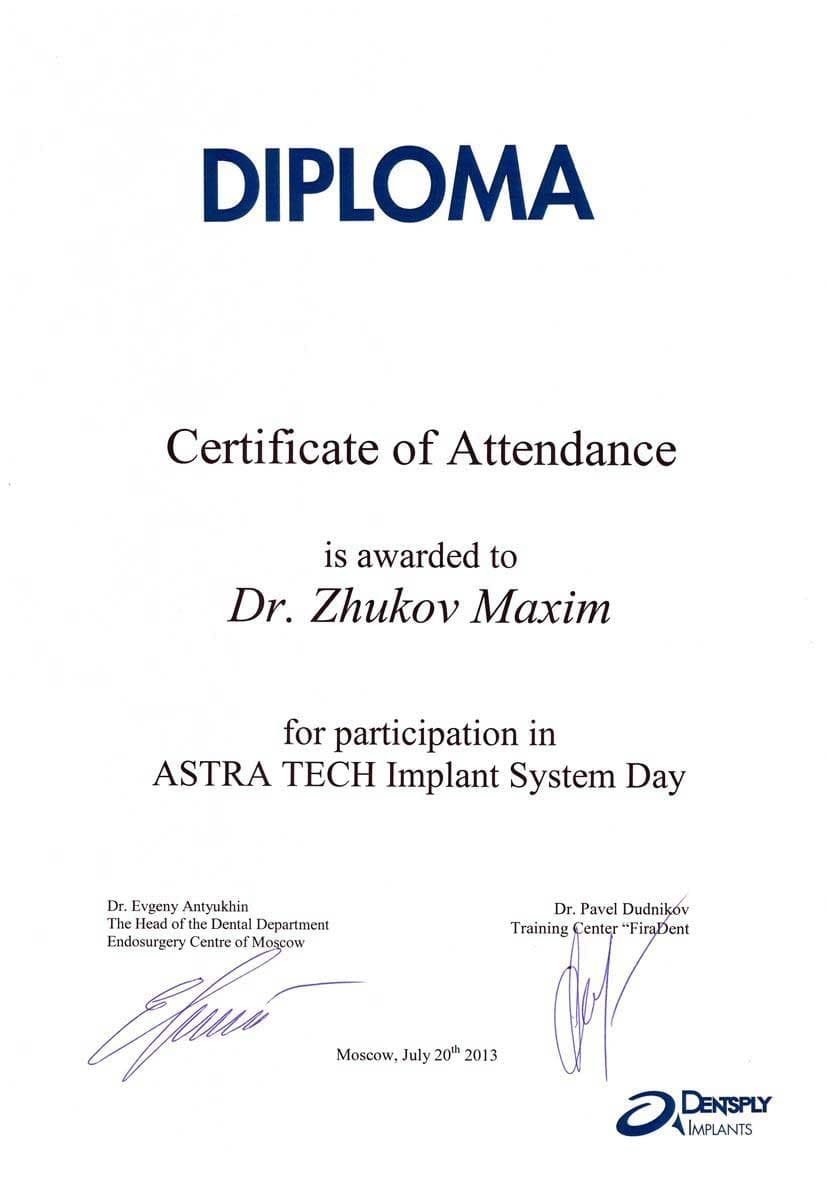 ASRTA TECH Implant System Day